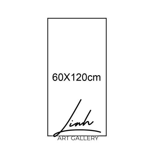 kich thuoc tranh 14 510x510 - Tranh Cá Chép Vượt Vũ Môn - LCC0014
