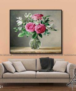 tranh hoa hong 15 1 247x296 - Tranh Hoa Hồng - OHO0121