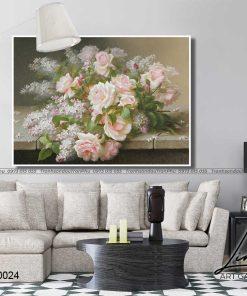 tranh hoa hong 2 1 247x296 - Tranh Hoa Hồng - OHO0024