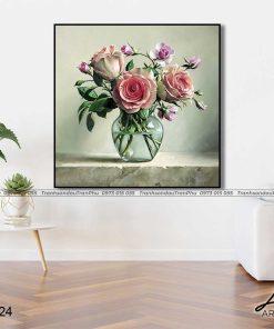 tranh hoa hong 31 1 247x296 - Tranh Hoa Hồng - OHO0224