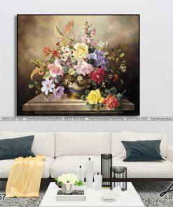 tranh hoa hong 34 1 247x296 - Tranh Hoa Hồng - OHO0257