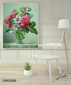tranh hoa hong 39 1 247x296 - Tranh Hoa Hồng - OHO0288