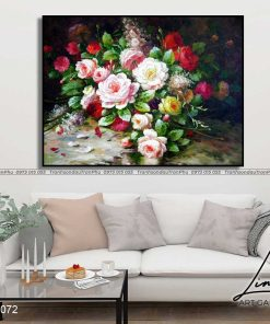 tranh hoa hong 4 1 247x296 - Tranh Hoa Hồng - OHO0072