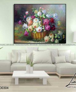 tranh hoa hong 43 1 247x296 - Tranh Hoa Hồng - OHO0304