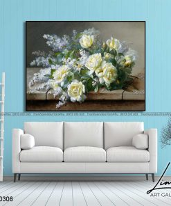 tranh hoa hong 44 1 247x296 - Tranh Hoa Hồng - OHO0306