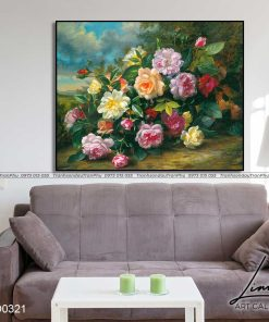 tranh hoa hong 45 1 247x296 - Tranh Hoa Hồng - OHO0321