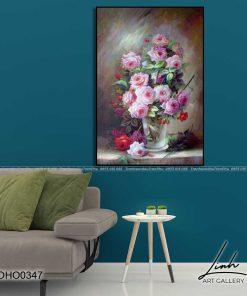 tranh hoa hong 50 1 247x296 - Tranh Hoa Hồng - OHO0347