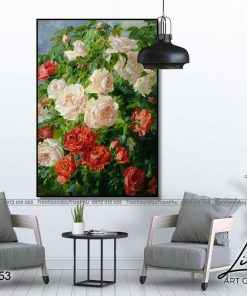 tranh hoa hong 52 1 247x296 - Tranh Hoa Hồng - OHO0353