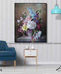 tranh hoa hong 57 1 247x296 - Tranh Hoa Hồng - OHO0378