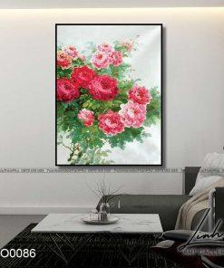 tranh hoa hong 6 1 247x296 - Tranh Hoa Hồng - OHO0086