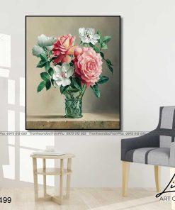 tranh hoa hong 76 1 247x296 - Tranh Hoa Hồng - OHO0499