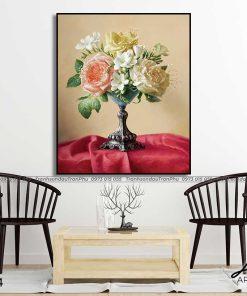 tranh hoa hong 78 1 247x296 - Tranh Hoa Hồng - OHO0504