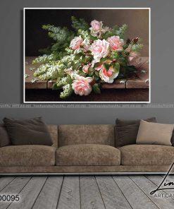 tranh hoa hong 8 1 247x296 - Tranh Hoa Hồng - OHO0095