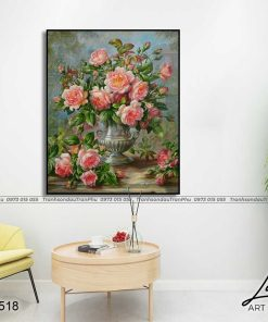 tranh hoa hong 81 1 247x296 - Tranh Hoa Hồng - OHO0518