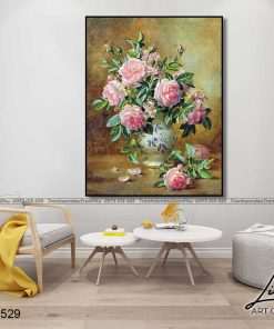 tranh hoa hong 83 1 247x296 - Tranh Hoa Hồng - OHO0529
