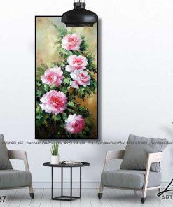 tranh hoa hong 84 1 247x296 - Tranh Hoa Hồng - OHO0537