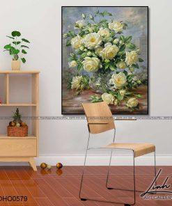 tranh hoa hong 86 1 247x296 - Tranh Hoa Hồng - OHO0579