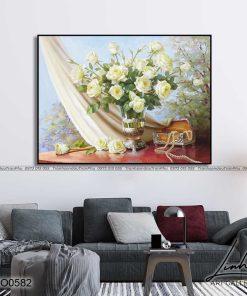 tranh hoa hong 87 1 247x296 - Tranh Hoa Hồng - OHO0582