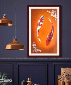 tranh ca chep 10 247x296 - Tranh Cá Chép - LCC0090