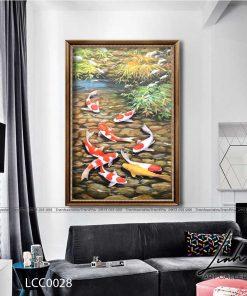 tranh ca chep 4 247x296 - Tranh Cá Chép - LCC0028