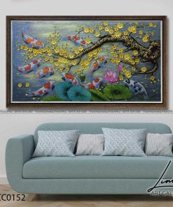 tranh ca chep hoa mai 5 247x296 - Tranh Cá Chép Hoa Mai - LCC0152
