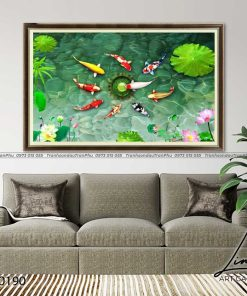 tranh ca chep hoa sen105 247x296 - Tranh Cá Chép Hoa Sen - LCC0190