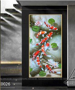 tranh ca chep hoa sen11 247x296 - Tranh Cá Chép Hoa Sen - LCC0026