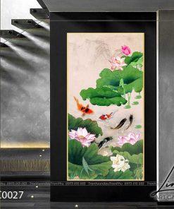 tranh ca chep hoa sen12 247x296 - Tranh Cá Chép Hoa Sen - LCC0027