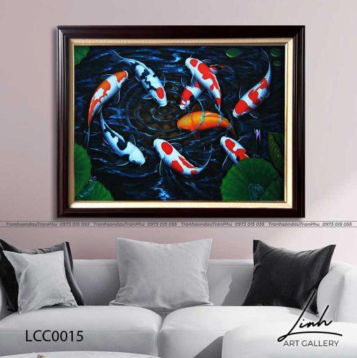 tranh ca chep hoa sen122 510x512 - Tranh Cá Chép Hoa Sen - LCC0015