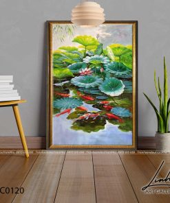 tranh ca chep hoa sen59 247x296 - Tranh Cá Chép Hoa Sen - LCC0120