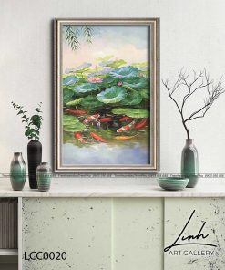 tranh ca chep hoa sen6 247x296 - Tranh Cá Chép Hoa Sen - LCC0020