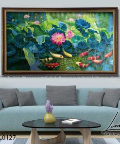 tranh ca chep hoa sen65 247x296 - Tranh Cá Chép Hoa Sen - LCC0127