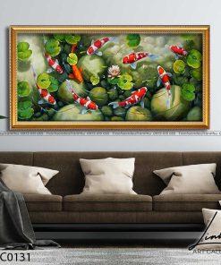 tranh ca chep hoa sen68 247x296 - Tranh Cá Chép Hoa Sen - LCC0131