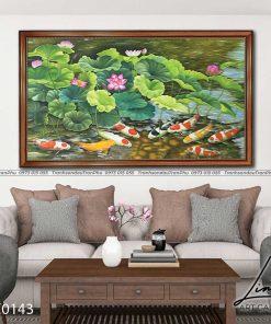 tranh ca chep hoa sen77 247x296 - Tranh Cá Chép Hoa Sen - LCC0143
