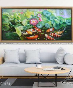 tranh ca chep hoa sen86 247x296 - Tranh Cá Chép Hoa Sen - LCC0154