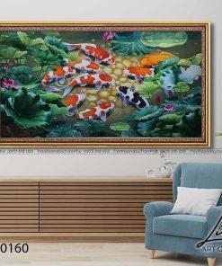 tranh ca chep hoa sen91 247x296 - Tranh Cá Chép Hoa Sen - LCC0160
