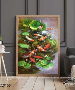 tranh ca chep hoa sen94 247x296 - Tranh Cá Chép Hoa Sen - LCC0165