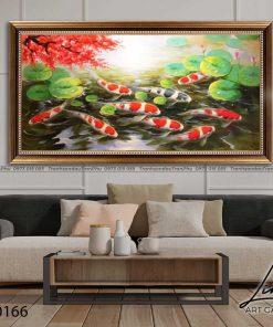 tranh ca chep hoa sen95 247x296 - Tranh Cá Chép Hoa Sen - LCC0166