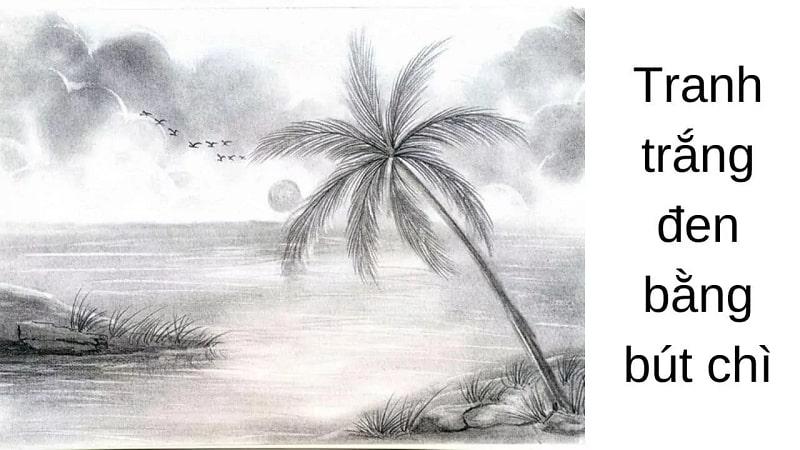 tranh den trang 3 - Nên mua tranh đen trắng trang trí nội thất ở đâu đẹp, chất lượng ?
