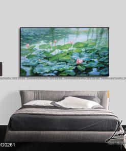 tranh ho sen 17 247x296 - Tranh Hồ Sen - OHO0261