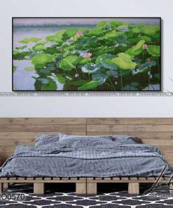tranh ho sen 39 247x296 - Tranh Hồ Sen - OHO0570