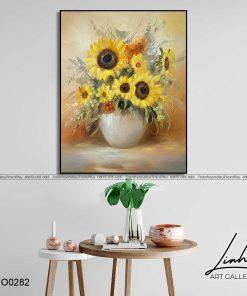 tranh hoa huong duong 2 247x296 - Tranh Hoa Hướng Dương - OHO0282