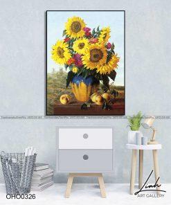 tranh hoa huong duong 4 247x296 - Tranh Hoa Hướng Dương - OHO0326
