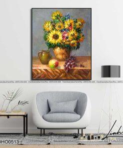 tranh hoa huong duong 5 247x296 - Tranh Hoa Hướng Dương - OHO0513