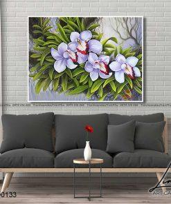 tranh hoa lan 10 247x296 - Tranh Hoa Lan - OHO0133