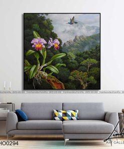 tranh hoa lan 14 247x296 - Tranh Hoa Lan - OHO0294