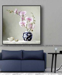 tranh hoa lan 2 247x296 - Tranh Hoa Lan - OHO0017