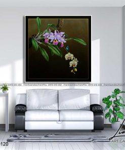 tranh hoa lan 7 247x296 - Tranh Hoa Lan - OHO0120