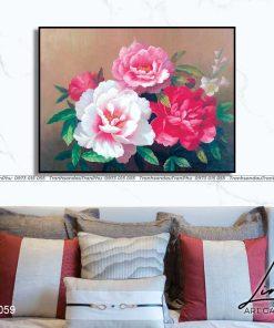 tranh hoa mau don 10 247x296 - Tranh Hoa Mẫu Đơn - OHO0059