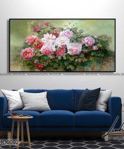 tranh hoa mau don 17 247x296 - Tranh Hoa Mẫu Đơn - OHO0092